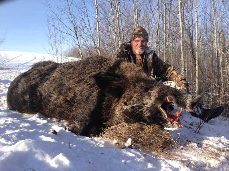 Wild Boar Adventures North Battleford Saskatchewan